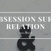 Obsession relation